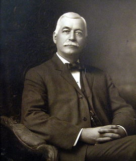 Portrait of Amos F. Adams